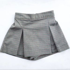 Vintage Oshkosh 3T plaid skort